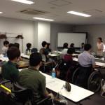 インターンに加え、一般参加の人も一緒に授業を受けてくれました。